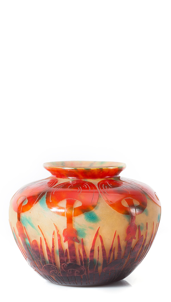 Vaso Art Nouveau, Schneider, Donata Patrussi