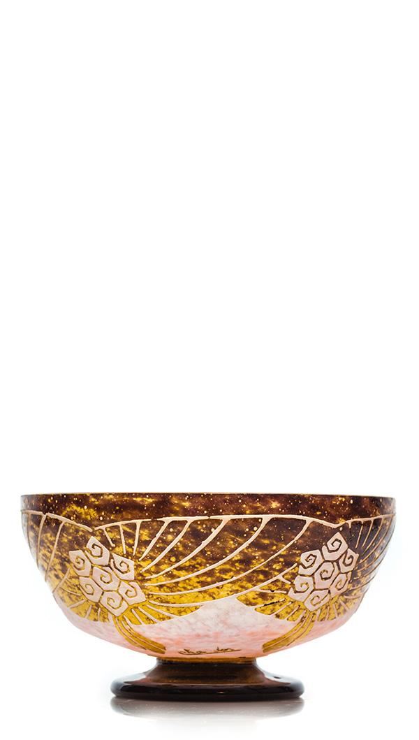 Vase Art Nouveau, Émile Gallé, Donata Patrussi